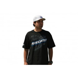 T-SHIRT TEAM ASSOCIATED 2012 SCHWARZ, SMALL