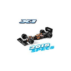 XRAY X1 - 2018 SPECS- LUXURY 1/10 FORMULA