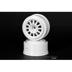 JCONCEPTS RULUX WHITE SC RIMS ( 2 PCS)