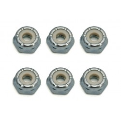 ASSOCIATED LOCKNUTS, 8-32, LOW PROFILE, STEEL