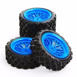 RUEDAS RALLY ROCKBLOK + BBS BLUE
