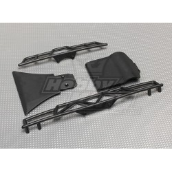 FRONT AND REAR BUMPER (1 SET)