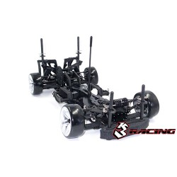 3RACING SAKURA D4 RWD 1/10 DRIFT SPORT BLACK (KIT)