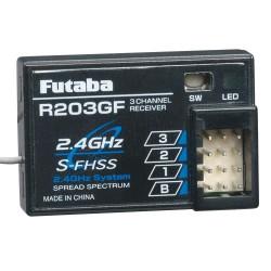 RECEPTOR FUTABA R203GF S-FHSS