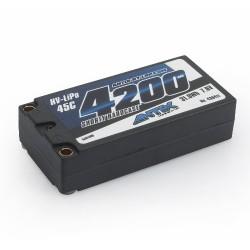 ANTIX  7.6V-4200 MAH GRAFENO LIHV LIPO 45C SHORTY C.DURA