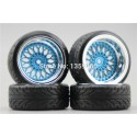 RUEDAS DRIFT K-FORCE RACING BBS BLUE (2U+6/ 2U+9)