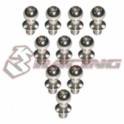 3 RACING STEEL BALL  STUD