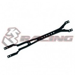 3 RACING GRAPHITE UPPER DECK 2.0MM FOR ADVANCE