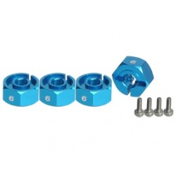 3RACING  WING WHEEL ADAPTOR  (6MM)