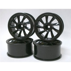 SPICE  L TYPE WHEEL 3MM OFFSET BLACK 4PCS