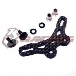 3 RACING GRAPHITE REAR SHOCK TOWER  FOR M07