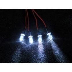 RECAMBIO LUCES LED PARA CENTRALITA (4 LEDS) 3RACING