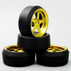 RUEDAS DRIFT K-FORCE RACING MAGNUM GOLD
