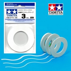 TAMIYA MASKING TAPE FOR CURVES