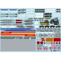 TAMIYA SPONSOR STICKER SET (OFF-ROAD CAR)