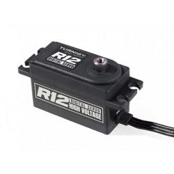 TGY-R12 LOW PROFILE HV HIGH SPEED DIGITAL TITANIUM GEAR 12KG/ 0,06SEG