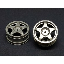 TAMIYA AUDI QUATTRO RALLY DISH WHEELS 2PCS