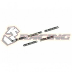 3 RACING 1.5X10MM SPRING  PIN-(5PCS)