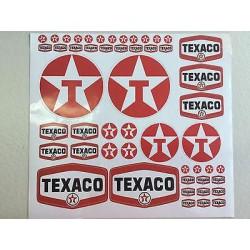 TEXACO DECAL SET