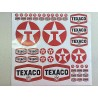 TEXACO DECAL SET