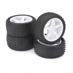 ABSIMA 1/10 WHEEL SET BUGGY 4X4 (4PCS)