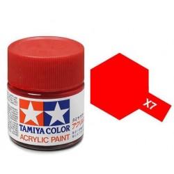 TAMIYA X7 ROJO BRILLANTE