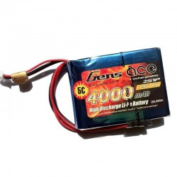 GENS ACE 7,4V 4000MAH RX 2S1P LIPO BATTERY PACK