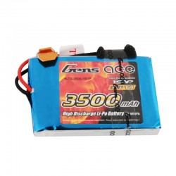 GENS ACE 3,7V  3500MAH  TX 1S1P LIPO BATTERY PACK