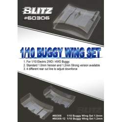 BLITZ 1/10 BUGGY WING SET (1,2MM)