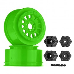 AXIAL METHOD 105 WHEELS (GREEN) (2 PCS)