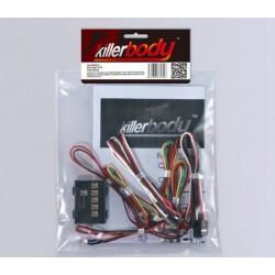 KILLERBODY LED LIGHT SET W/CONTROLLER BOX 8 LEDS