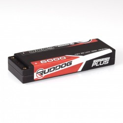 RUDDOG LIHV 7,6V 6000MAH 100C GRAPHENE PLUS LCG STICK PACK