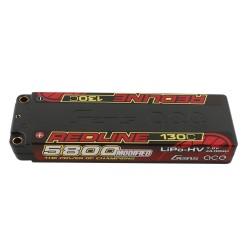 GENS ACE REDLINE SERIES 7,6V 5800MAH 130C HV LIPO MODIFIED