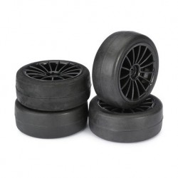 ABSIMA WHEEL SET 15 SPOKE-SLICK BLACK