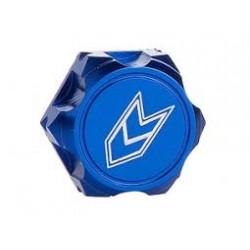 LOUISE RC 1/8 ALU SERRATED CLOSED WHEEL NUT M12 BLUE (4PCS)