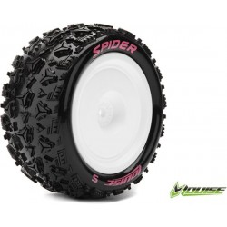 LOUISE RC E-SPIDER 1/10 EP BUGGY REAR TIRES MOUNTED (SOFT)