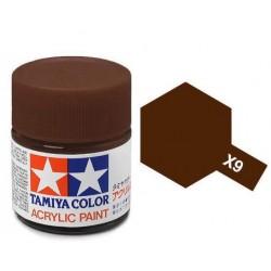 TAMIYA X9 MARRON BRILLANTE