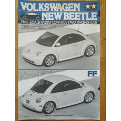 MANUAL TAMIYA FF VW NEW BEETLE