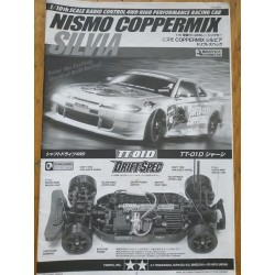 MANUAL TAMIYA TT01D NISMO COPPERMIX SILVIA