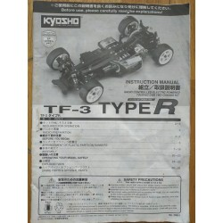 MANUAL KYOSHO TF3 TYPE-R