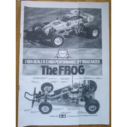 MANUAL TAMIYA THE FROG (EN ESPAÑOL)