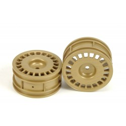 TAMIYA SUBARU IMPREZA RALLY DISH WHEELS 2PCS