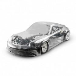 FG 1/5 4X4 ELECTRIC  PORSCHE GT3 CLEAR BODY 510E ARR