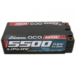 GENS-ACE  HV 7,6V 5500MAH 120C SHORTY HARDCASE