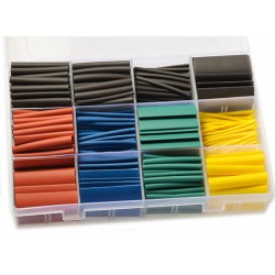 HEAT SHRINK TUBING TUBE KIT (530 PCS)