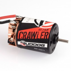 RUDDOG CRAWLER 45T 3-SLOT BRUSHED MOTOR