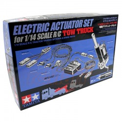 TAMIYA ELECTRIC ACTUATOR SET FOR FH16 TOW TRUCK