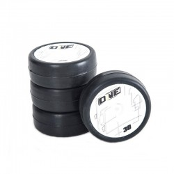 ONE 1/10 TC RUBBER TIRE PREGLUED 30 SHORE