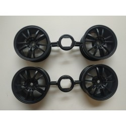 TAMIYA TOYOTA SUPRA GR WHEELS (BLACK 10 SPOKE)