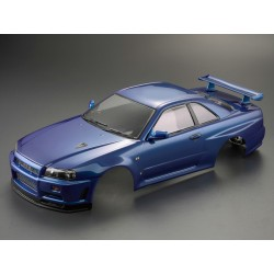 "KILLERBODY NISSN SKYLINE R34 ""METALLIC BLUE"" FINISHED BODY"
